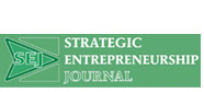 Strategic Entrepreneurship Journal